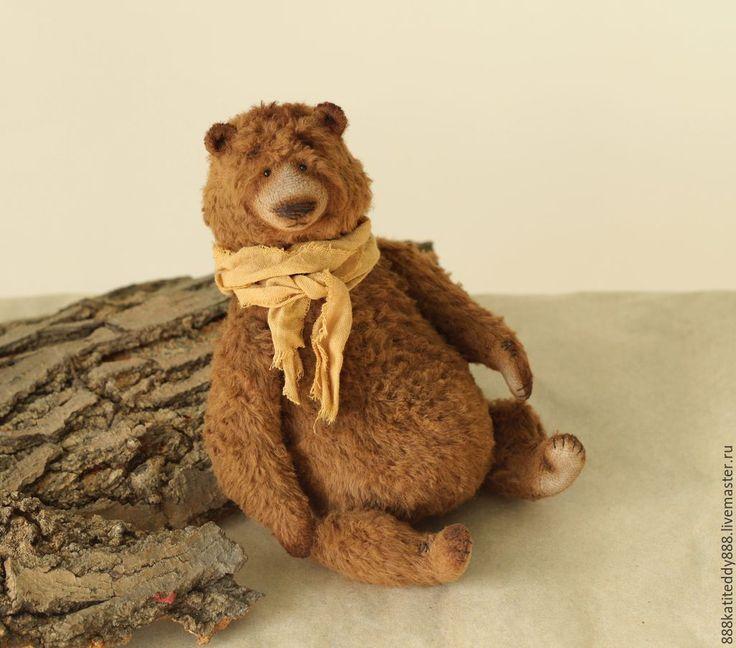 Купить Валун - мишка тедди, медведь, медведь тедди, медведь игрушка, авторская игрушка, тедди