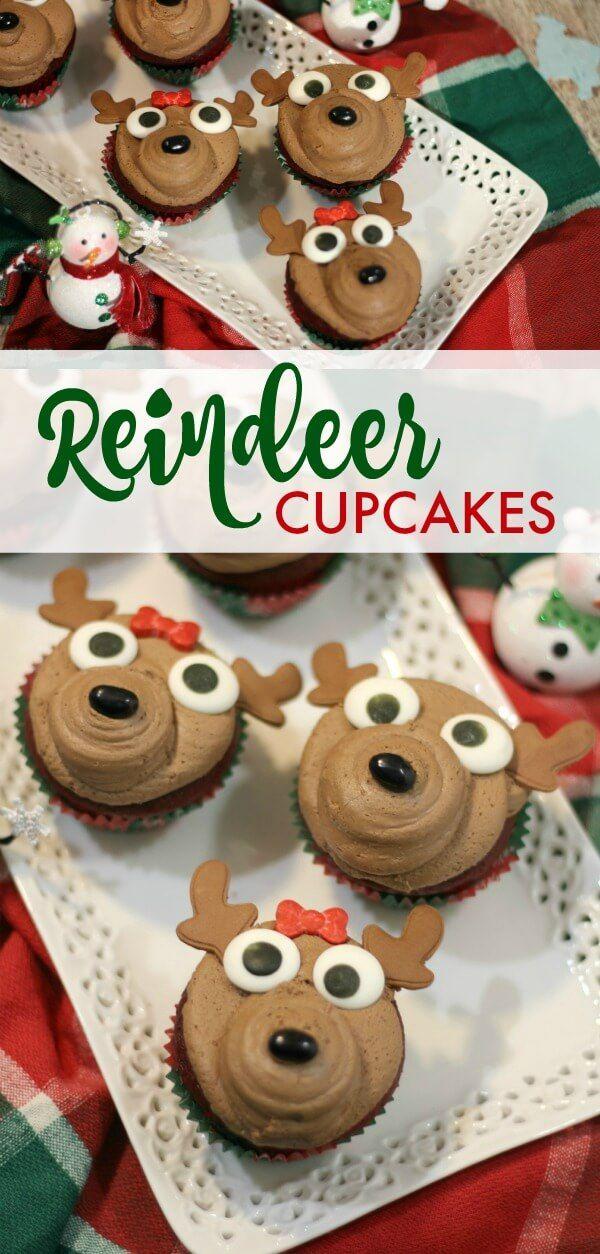 Reindeer Cupcake Recipe!
