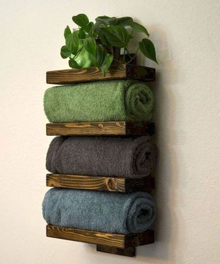 Rustic Bathroom Inspirations Diy Towels Diy Bathroom Storage Bath Towel Racks