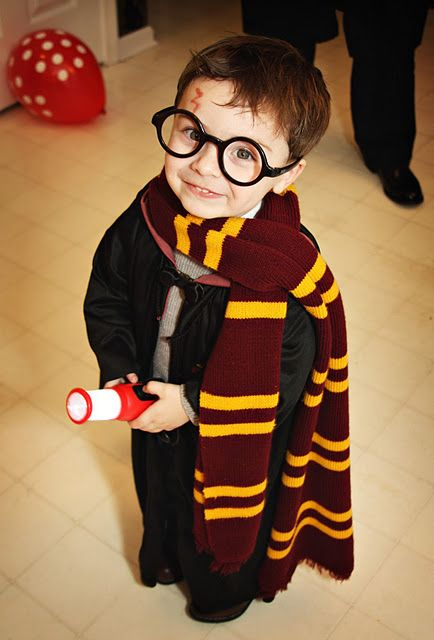 Cutest Toddler Harry Potter ; )