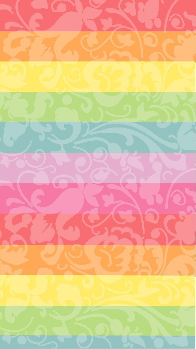 Colorful rainbow cocoppa wallpaper