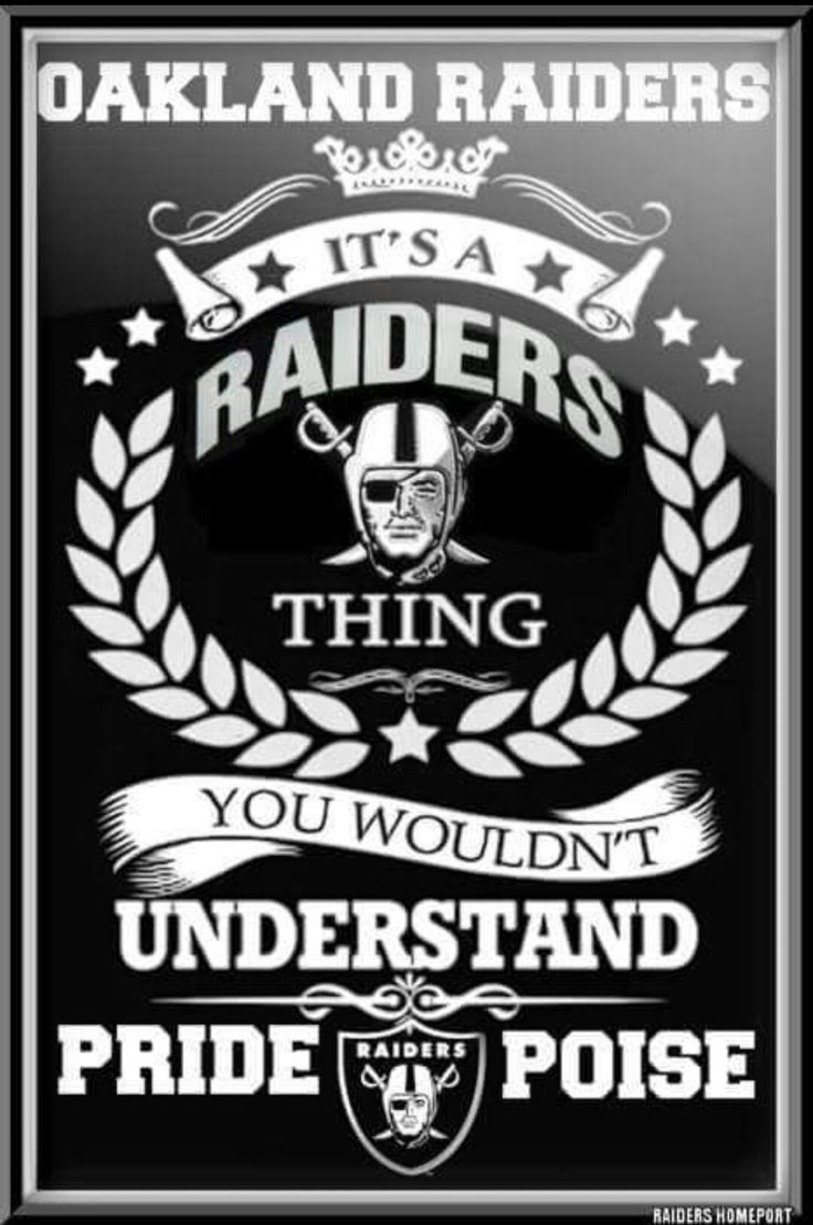Oakland Raiders Nail Art: 1114 Best Raider Nation Images On Pinterest