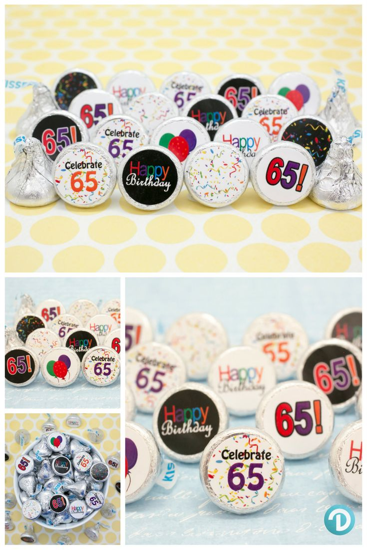 Turning 65 Throwing A 65th Birthday Celebration These Party Stickers Can Help Bring That Extra Something S