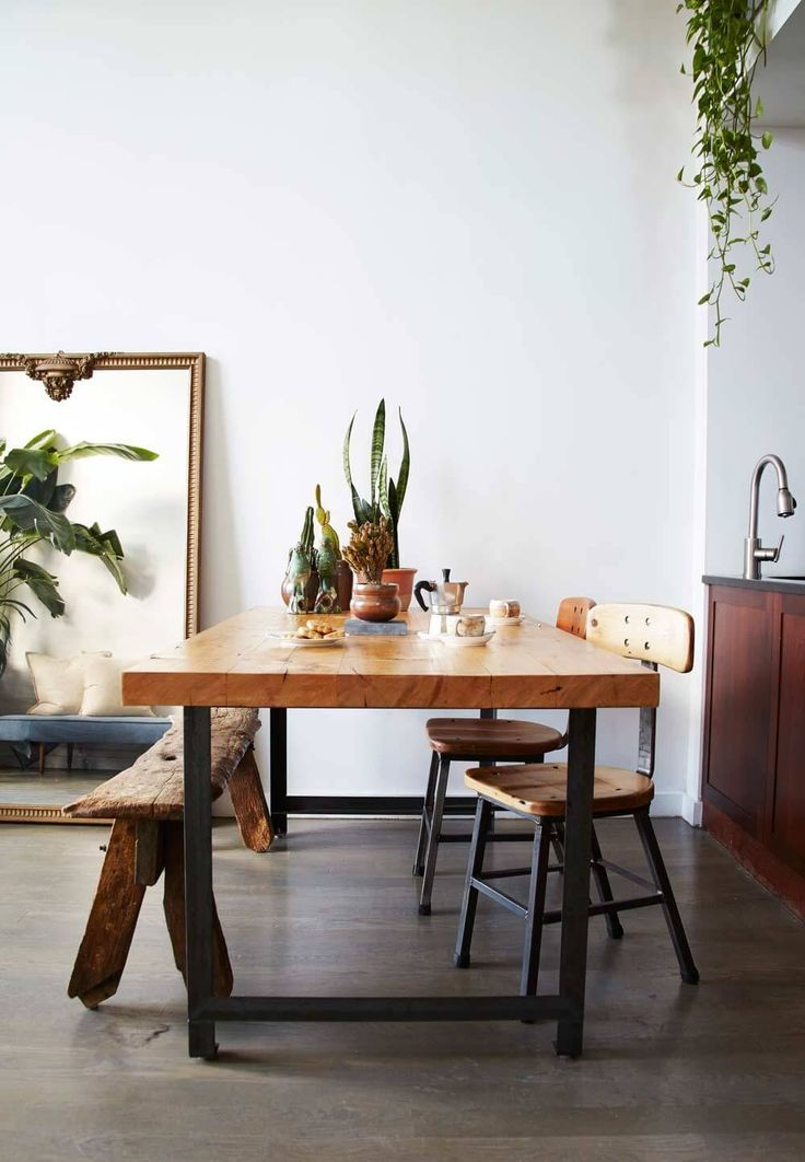 867 best kitchen confidential images on pinterest for Dining room table for studio apartment
