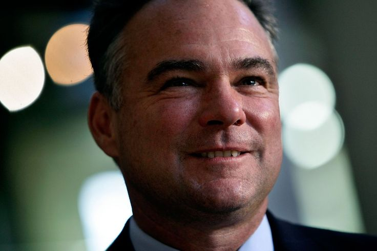 Tim Kaine. Mizzou '79, Coro Fellow, Harvard Law '83, took a break during law school to work with the Jesuit Volunteer Corps in Honduras. Fluent Spanish speaker, Catholic, harmonica player.  Human Rights Campaign: 100% NARAL: 100% NAACP: 96% Nat'l Small Bus. Assoc: 100% Defenders of Wildlife Action Fund: 100%