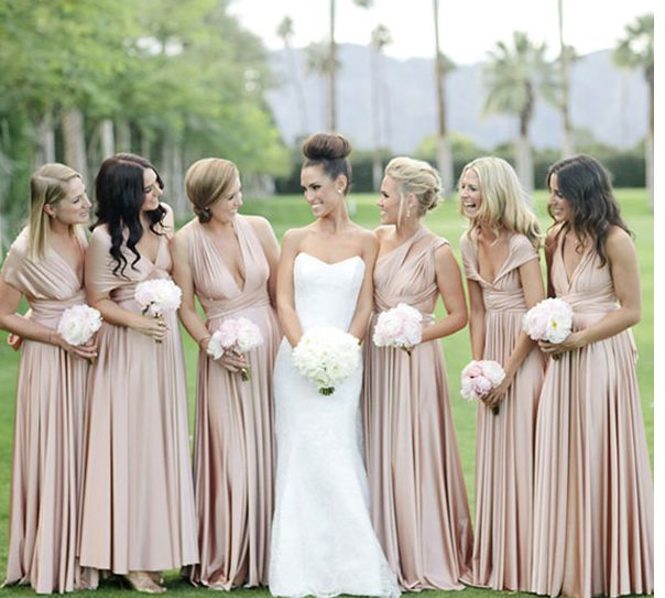 How to Choose Bridesmaid Dresses: The 4C'