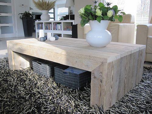 Design salontafel van gebruikt steigerhout  De tafel is gemaakt van zeer mooie kwaliteit gebruikt steigerhout. Het hout is licht geschuurd waardoor hij glad is, maar tóch zijn robuustheid behoudt.   Afmetingen (LxBxH): 160 x 80 x 46  Verkoopprijs: €340,-  Ik kan deze tafel ook in andere afmetingen maken.   Like w00tdesign op Facebook voor een kijkje achter de schermen.  w00tdesign Oranjeboomstraat 64  4812 EK Breda E-mail: info@w00tdesign.nl