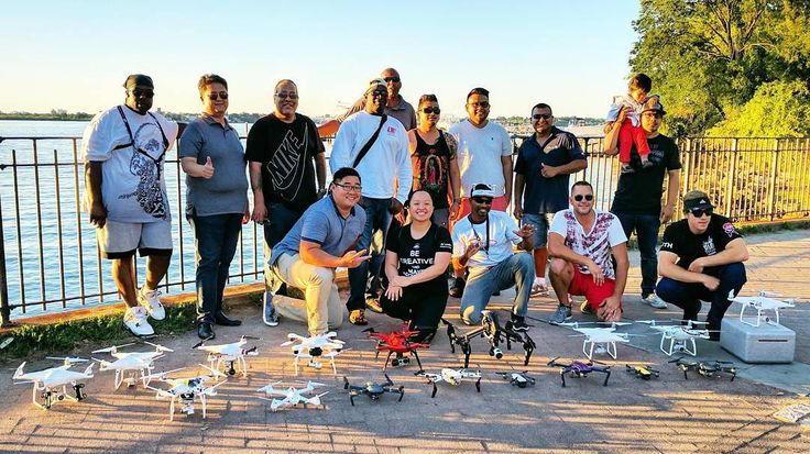 The DJI's are taking over NYC 5 Boroughs Drone Meetups! . . . . . . . #meetups #francais #lewis #blvd #dronegroup #style #motivational #fly #nypd #community #network #grow #skill #fastandfurious #scene #pulse #NYC5BDM #organization #pureboost #fun #learn #better #droner #drones #dji #dronexfactor