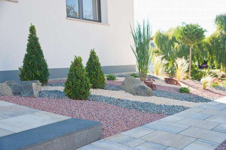 Kiesgarten dreifarbig