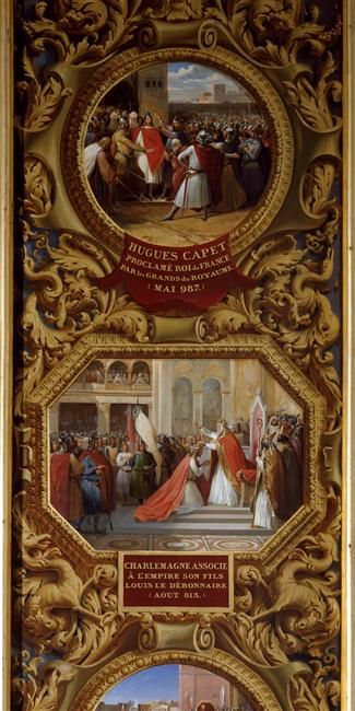 Henri Levy | Le Couronnement de Charlemagne | Images d'Art