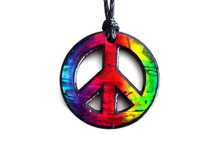 Paua World - Rainbow Peace Pendant, $29.90 (http://www.pauaworld.com/rainbow-peace-pendant/)