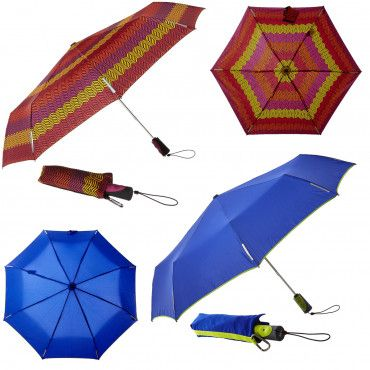 "2pk Totes Titan Wind-Resistant 47"" Umbrellas - Auto Open/Close"