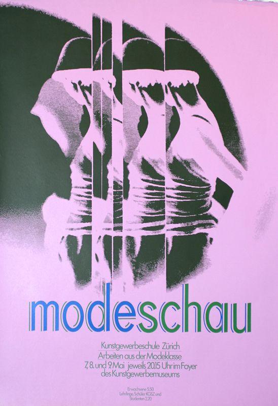 Modeschau (Fashion Show) by Artist Unknown | Shop original vintage #posters online: www.internationalposter.com