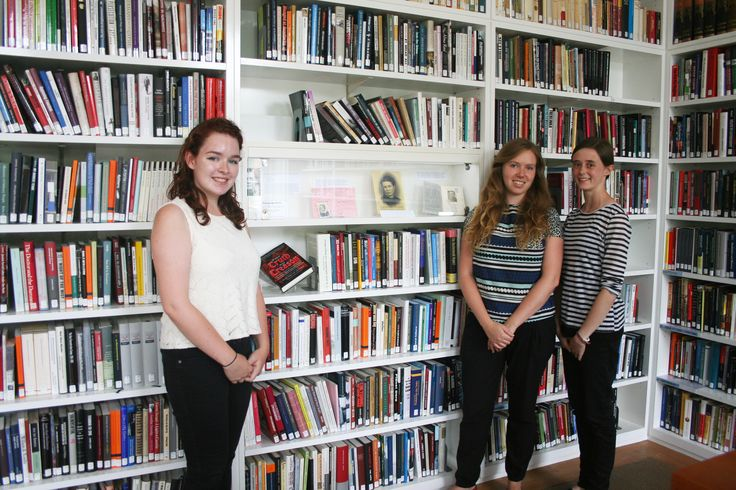 It's done! Huge well done to these three fantastic young women who have worked so hard researching and putting the exhibition together. Read about their take on the project here: http://www.wienerlibrary.co.uk/Blog?item=106&returnoffset=0