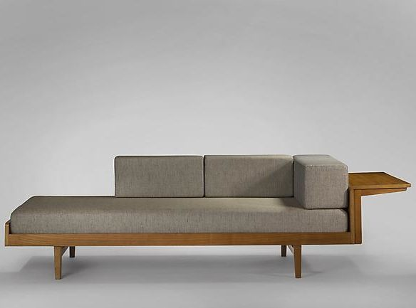Pierre Guariche/A.R.P.; Ash Daybed, 1955.                              …
