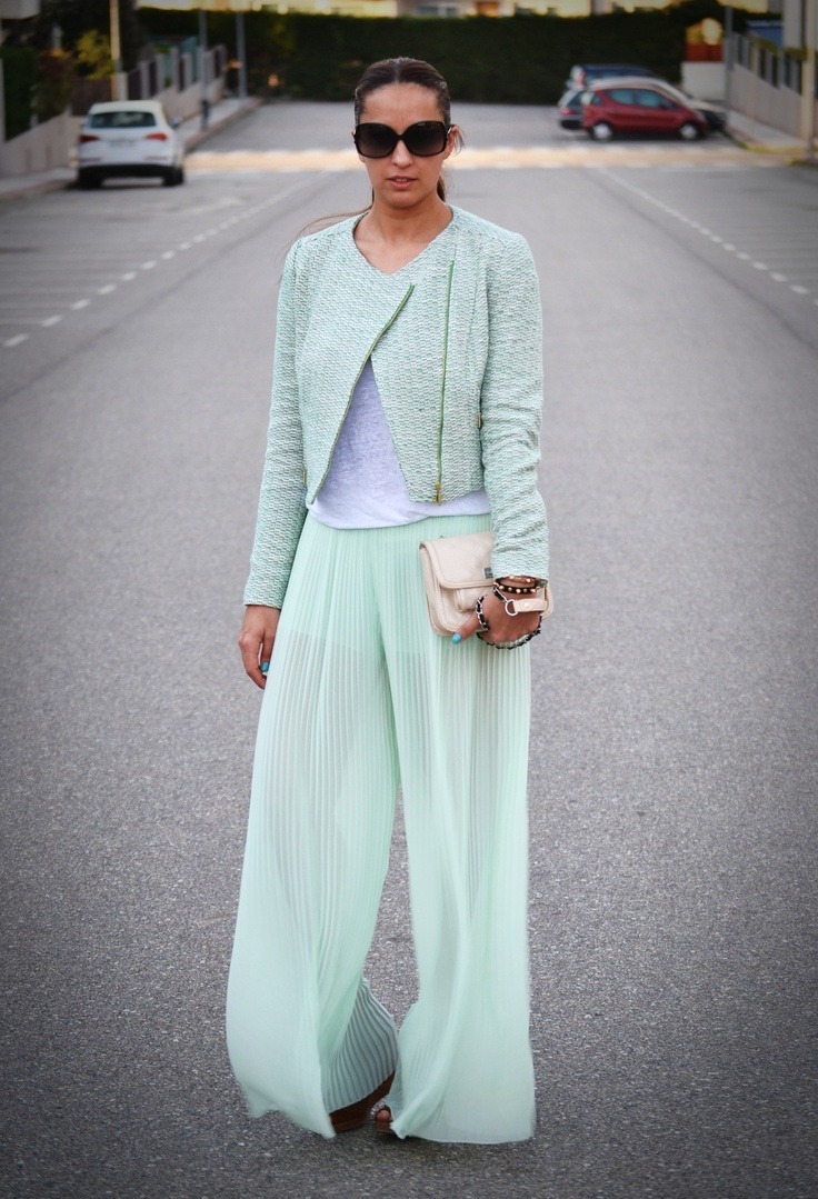 1000  images about Fashion&Style: Wide trousers on Pinterest ...
