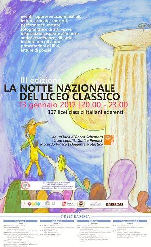 Forlì: Presentazione iniziativa La Notte nazionale del Liceo Classico