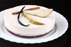 Verdade de sabor: Шоколадно-грушевый торт с панна коттой / Torta de chocolate e…