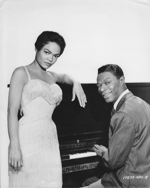 Eartha Kitt and Nat King Cole.