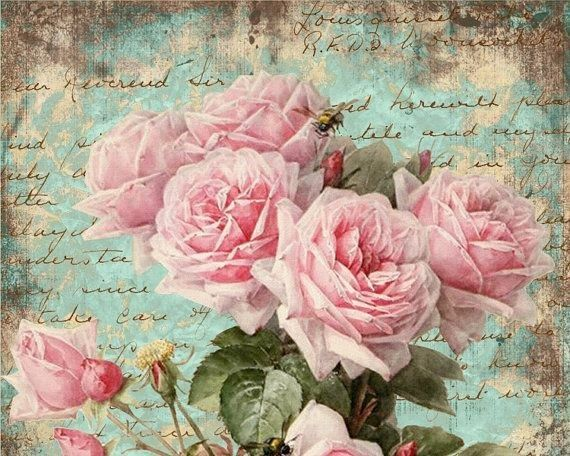 Best 25+ Vintage Roses Ideas On Pinterest
