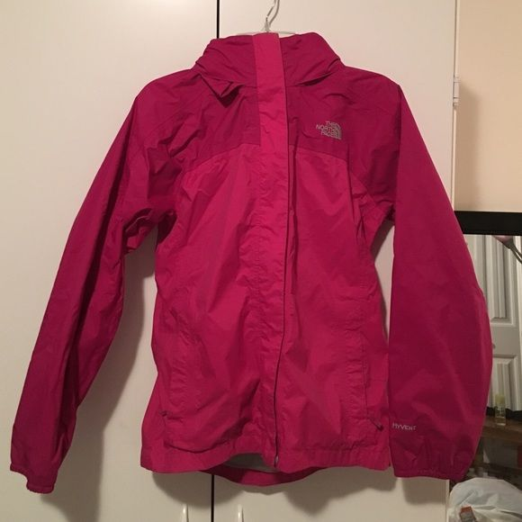North Face windbreaker Good condition north face! Size Large in kids, fits XS adult! North Face Jackets & Coats