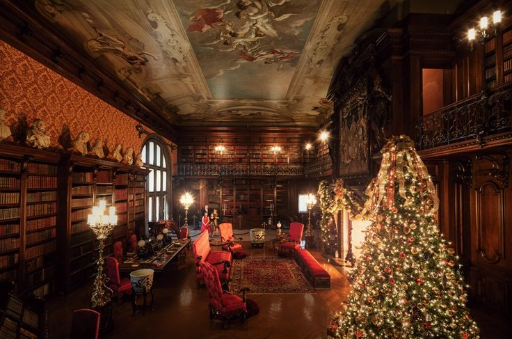 The Biltmore House, stunning during the Christmas season!!