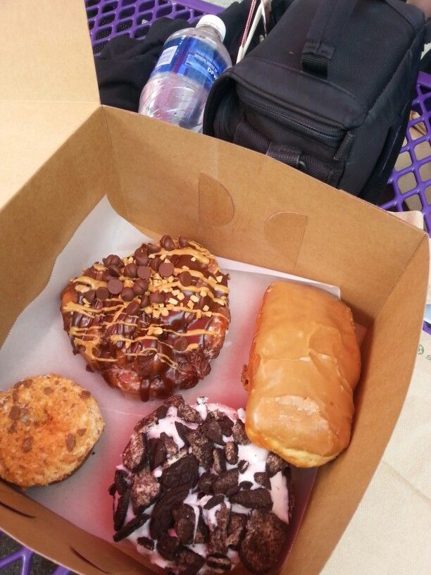 Voodoo Donuts in Portland OR- seriously worth the wait in line.
