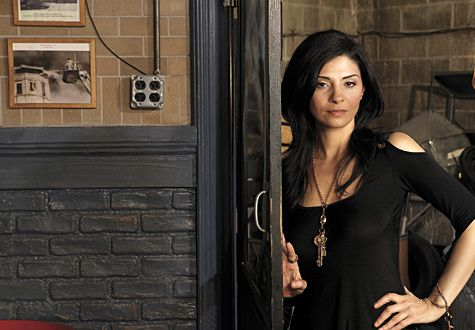 Callie Thorne // Rescue Me Promo Pic // this lady is gorgeous, but finding a decent picture of her is impossible.
