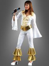 Supertrooper Dancing Queen Schlagersängerin Kostüm der 70er Jahre