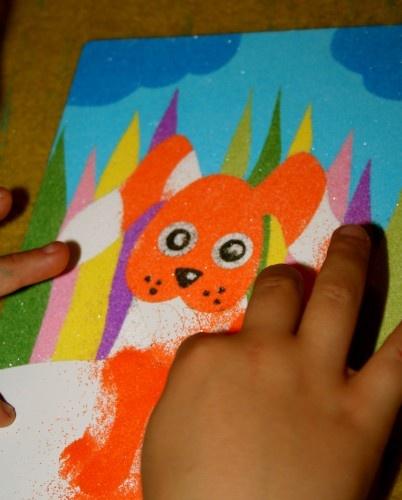 sabbiarelli gioca e colora con la sabbia
