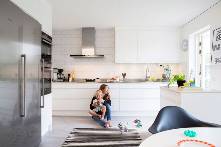 Vitt kök utan handtag - Stil | Ballingslöv