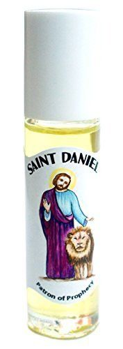 St Daniel Patron of Prophecy Roll on Body Oil