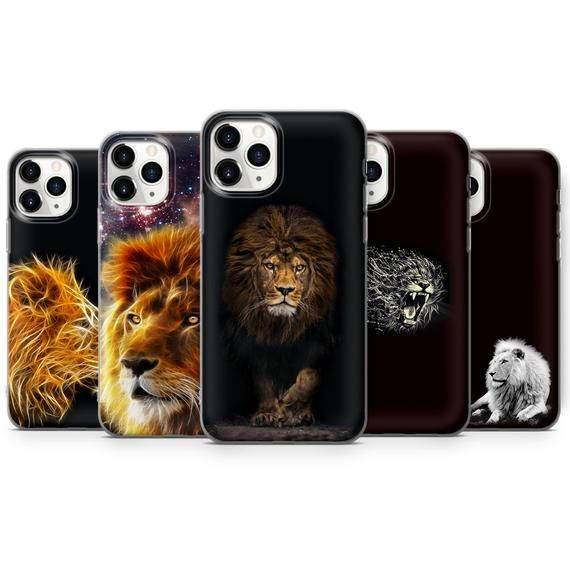 Lion Phone Case King Of The Jungle Animal Cover Fits Etsy In 2021 Phone Cases Trendy Phone Cases Etsy Images