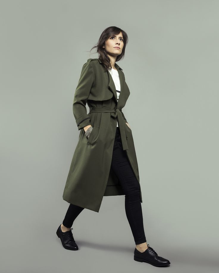 Londres, trench coat & jacket - sewing pattern for women   Orageuse