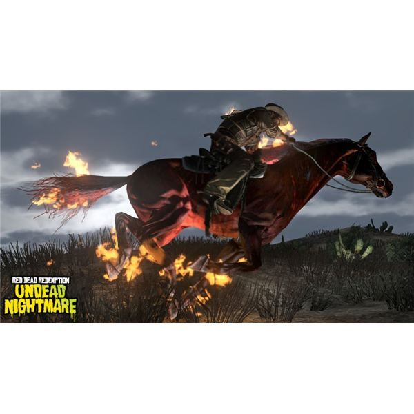 War horse of the apocalypse on red dead redemption undead nightmare!!!!!!!!!!!