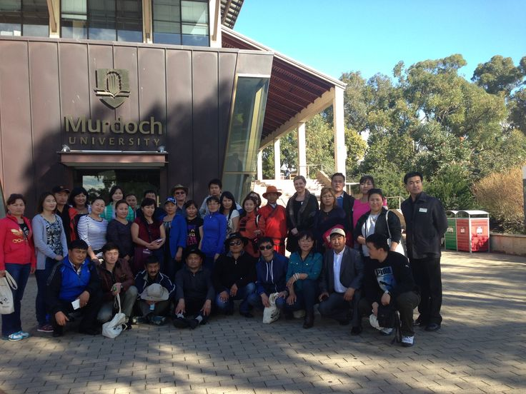 A group of Mongolian Teachers visited Murdoch University South Street Campus on Wednesday 3/7/13 for an event hosted by the Murdoch University School of Education.