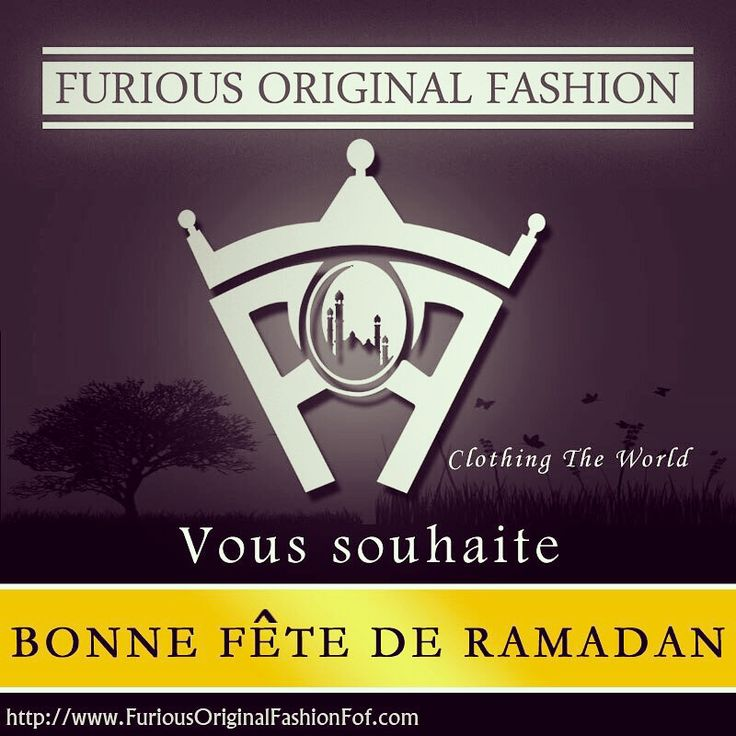 """Furious Original Fashion """"FoF""""  Website : www.FuriousOriginalFashionFof.com ⭐️Sur Eid ul-Fitr, On vous souhaite que les bénédictions d'Allah éclairent le chemin et conduisent au bonheur, à la paix et à la réussite. #Eid_Mubarak Device: Clothing The World 🌎  #BeAfof #BrandNewClothing #FoF #Beyourself #FuriousOriginalFashion #ClothingTheWorld"""