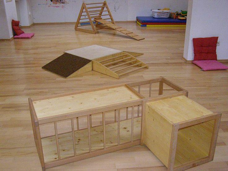 Fr herziehungspraxis hospitation im pikler spielraum for Raumgestaltung nach montessori