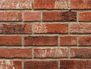 Клинкерная плитка под кирпич для стен интерьера состаренная поверхность Stroeher Steinlinge 7370