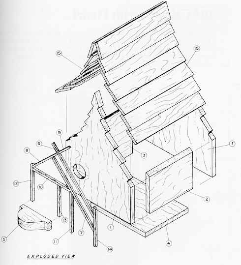 Victorian birdhouse plans free for House projects plans