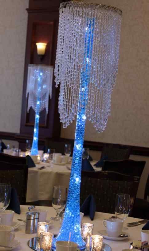 aqua gems centerpieces party event decor decorations for rh pinterest com