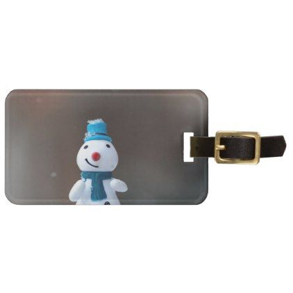 Winter Christmas Snow Toy Bag Tag - winter gifts style special unique gift ideas