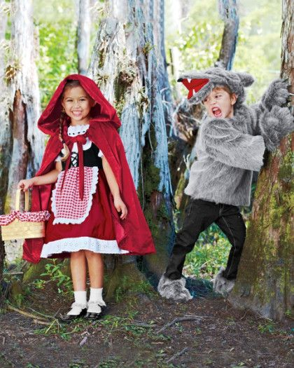 Red Riding Hood Costume for Girls