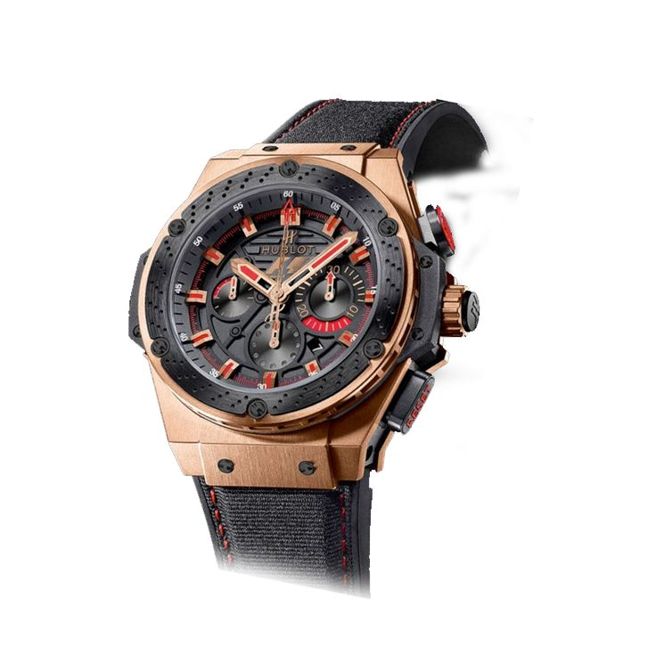 Hublot king power formula one chronograph strap watch