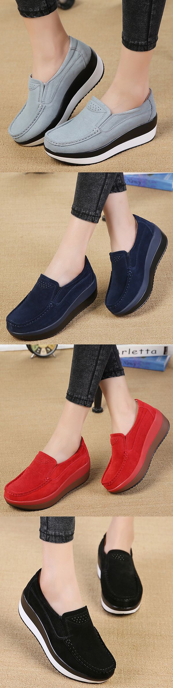 Do You Want The Large Size Rocker Suede Shoes For Your Fall and Winter.I Think This One Will Be Your Best Choice.Don't  Hesitate to Take It!