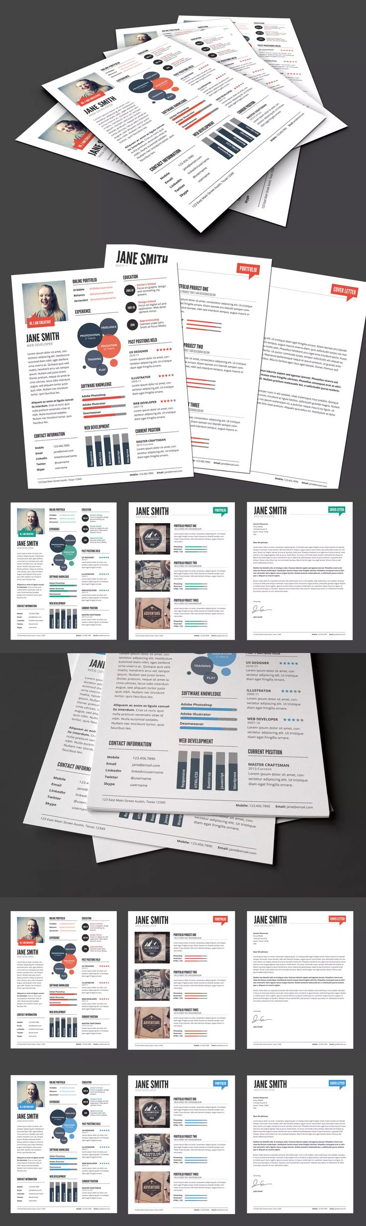 85 best Resume / CV Design Templates images on Pinterest ...