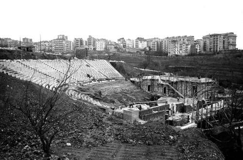 Harbiye Açık Hava Tiyatrosu İnşaatı / 1944-46