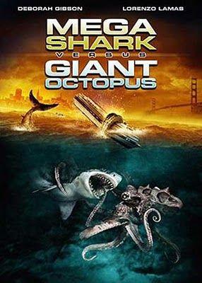 mega shark vs giant octopus: Movie Collection, Megashark, Lorenzo Lama, Movies, Octopuses 2009, Giant Octopuses, Bad Movie, Mega Sharks, Sharks Movie
