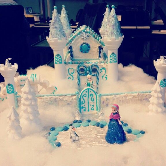 My Frozen Gingerbread House 2014 Crafts