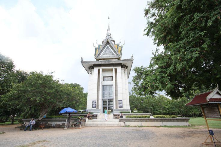 """The killing fields"", Choeung-Ek in #Phnom Penh. #VietnamSchoolTours #Cambodia"
